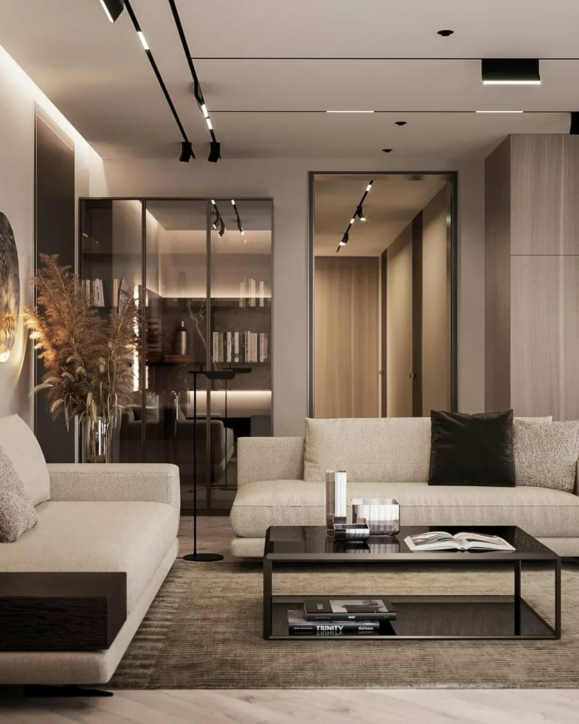 Дизайн интерьера квартиры в Астане, Нур-Султане